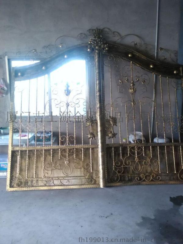歐式鐵藝大門, 別墅大門